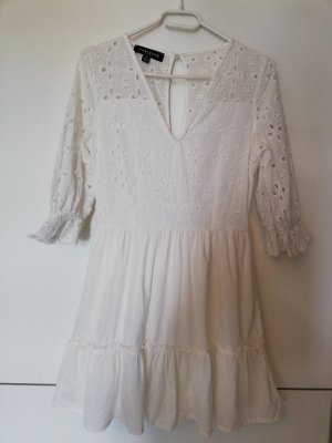 Parisian Mini Dress white