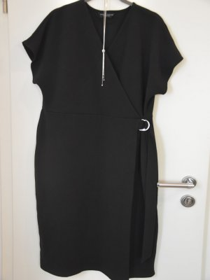 Dorothy Perkins Robe portefeuille noir acrylique