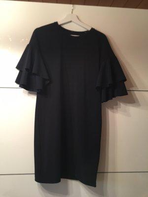 Vila Flounce Dress dark blue
