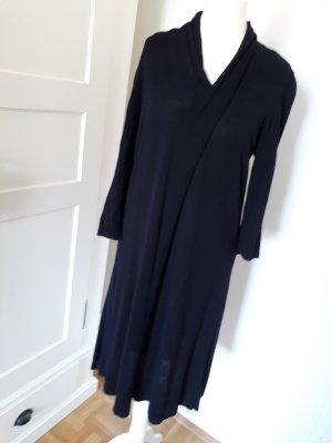 Kleid dunkelblau COS Gr. S 3/4 Arm - leicht transparent