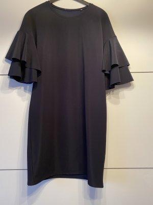 Kiomi Sukienka z falbanami ciemnoniebieski