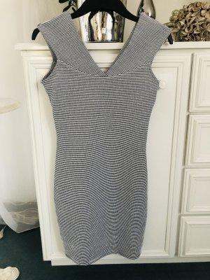 Kleid / dunkelblau-weiß gestreift / Ge. 36 S / NEU mit Etikett