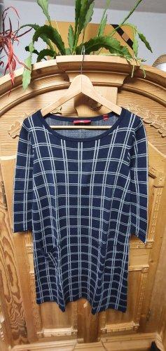 Kleid dunkelblau/weiß *neuwertig*