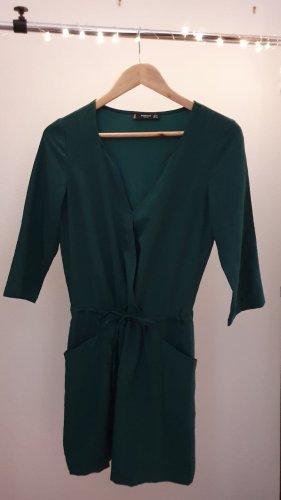 Kleid dunkelgrün/khaki von Mango Größe XS