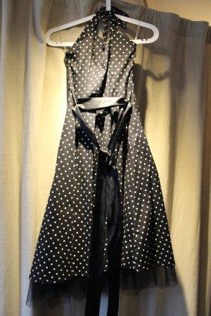H&R London Petticoat Dress black