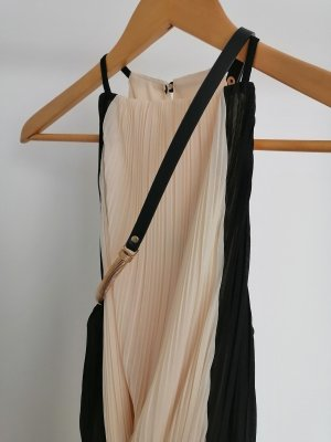 Miss Selfridge Robe à manches courtes noir-rose chair