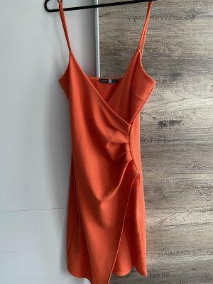 Boohoo night Evening Dress dark orange