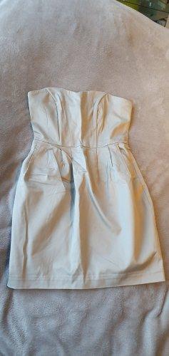 H&M Sukienka z gorsetem kremowy
