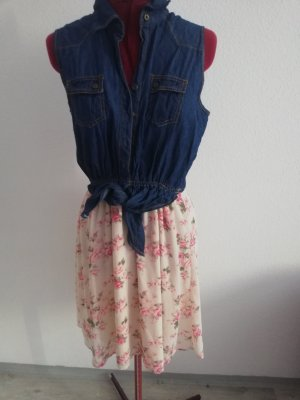 Peckott Denim Dress multicolored