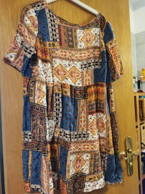 C&A Robe Sweat brun-bleu foncé