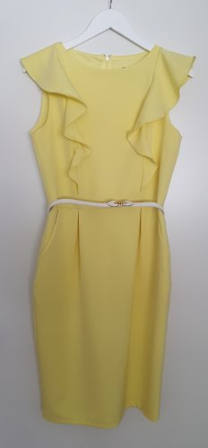 Paperdolls London Jersey Dress yellow