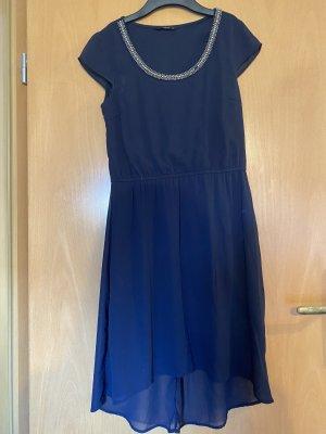 Only Vestido de noche azul oscuro