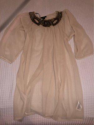 H&M Sukienka plażowa kremowy-nude