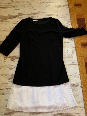 Apanage Midi Dress black-white polyester