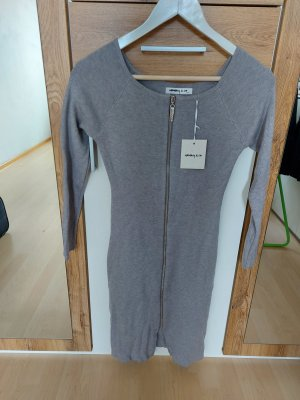 Sweater Dress silver-colored