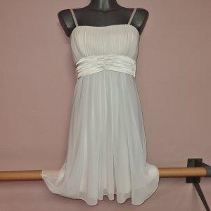 Kleid ecru von Laura Scott Gr. XS 34 neu mit Etikett elegant