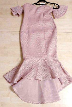 100% Fashion Midi-jurk roségoud