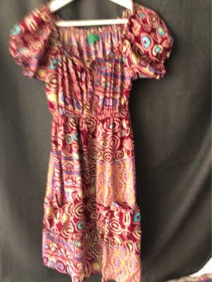 Babydoll Dress multicolored