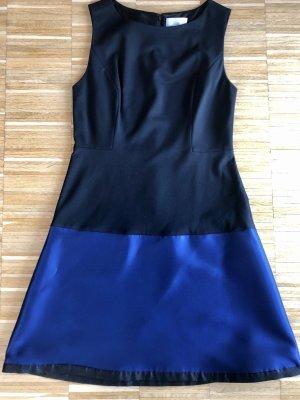 Kleid Erin Fetherston Gr. 8 (S/M) Schwarz/Blau