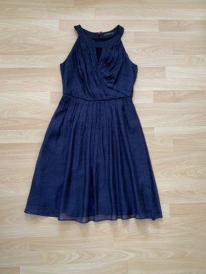 Esprit Chiffon Dress dark blue-grey violet