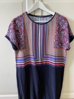 Esprit Shirt Dress blue-brick red