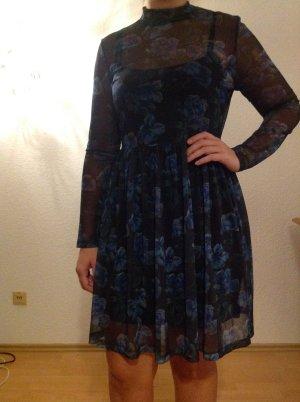 Kleid Esprit Mesh neu, mit Unterkleid