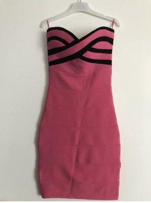 Kleid Etui Bandeau Pink Gr 32 NEU