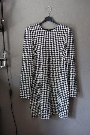 & other stories Robe courte noir-blanc tissu mixte