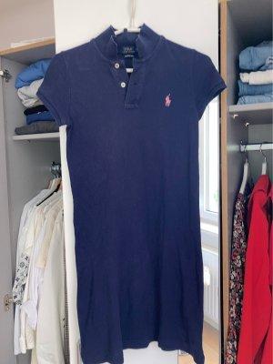 Polo Ralph Lauren Robe Polo bleu foncé-rose