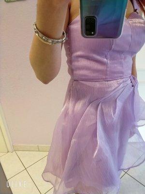 AB Design Vestido de tela de sudadera lila