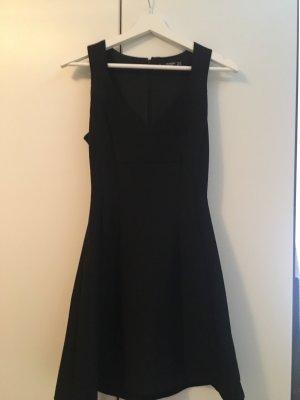 Mango Basics Balloon Dress black
