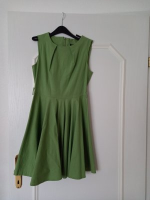 Acevog Petticoat Dress lime-green