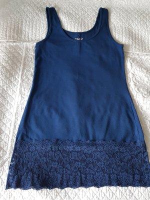 Be only Off-The-Shoulder Dress blue