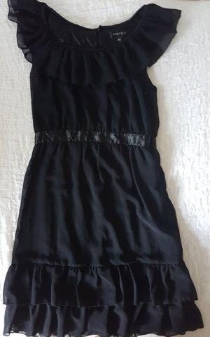 Amisu Midi Dress black polyester