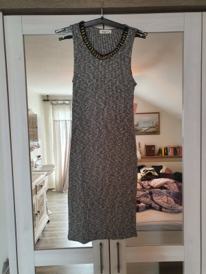 Ginger G Vestido de tubo gris
