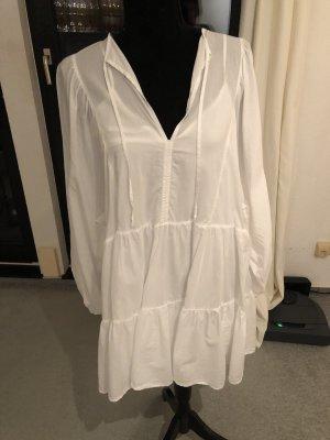 H&M Balloon Dress white