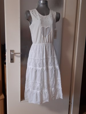 Made in Italy Beach Dress white cotton