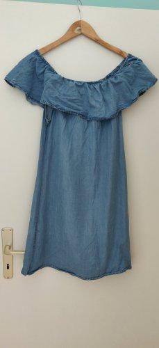 Jeansowa sukienka stalowy niebieski
