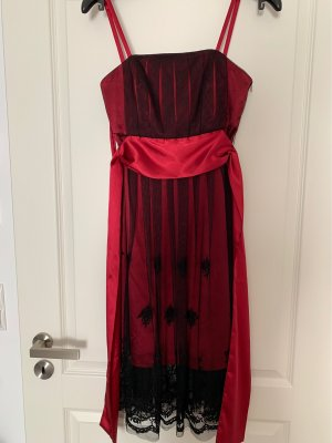 Angie Evening Dress red-black