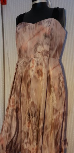 Asos Tall Petticoatjurk veelkleurig Gemengd weefsel