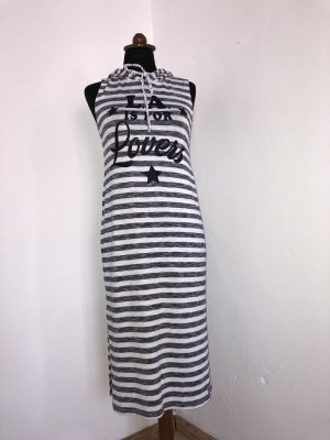 BSB Collection Midi Dress white-silver-colored
