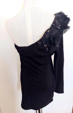 Jane norman Sukienka na jedno ramię czarny