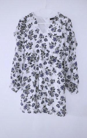 Kleid floral playsuit jumpsuit sommer einteiler overall maxi mini midi dress
