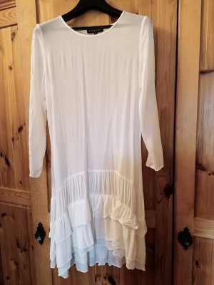 Four flavor Szyfonowa sukienka biały