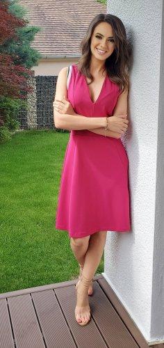 Kleid Fuchsia, von italienische Designermarke: Rinascimento