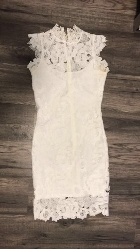 Gina Tricot Robe de cocktail blanc