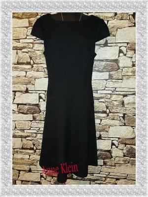 Anne Klein A-lijn jurk zwart Gemengd weefsel