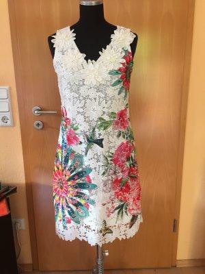 Kleid für den besonderen Anlass, weiß, Spitze, Gr. S/M, NEU mit Etikett!