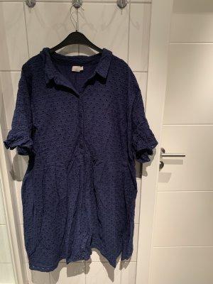Asos Shortsleeve Dress dark blue