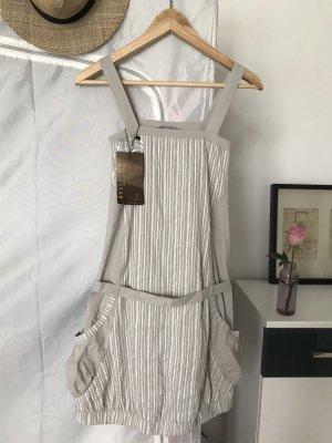 vestido de globo blanco-marrón grisáceo